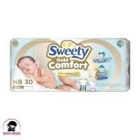SWEETY Comfort Gold Popok Perekat NB30 NB 30