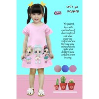 Dress Lol Surprise 107/Baju anak / Terusan Anak