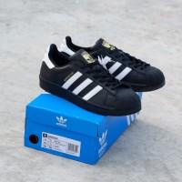 Adidas superstar black white