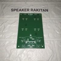 Papan PCB power bank/power suply simetris 4elko
