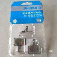 Kampas rem cakram segi Shimano ORI b01s disc brake pad sepeda