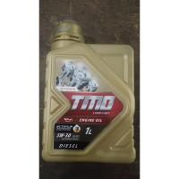 Oli Mesin Mobil Toyota Diesel TMO Gold 5W-30 Synthetic 1 Liter Asli