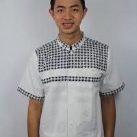 Baju koko Pria Casual Tanpa Bordir, Busana Muslim Pria, Kode A - eq214