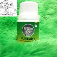 Muco Lysine 50 Tablet - Obat Flu Cat - Penambah Nafsu Makan Kucing