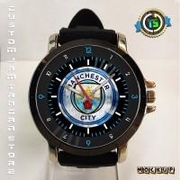 Jam Tangan MCFC Manchester City 04 Rubber Big Custom