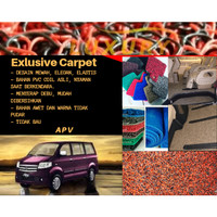 Karpet Mobil Bihun PVC Coil APV Full Bagasi 2 Warna