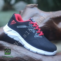 Sepatu adidas alphabounce warna hitam - Hitam, 39