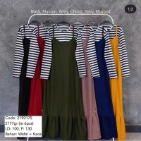 Gamis Overall Ruffle / Gamis Rempel