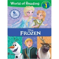 Sale 6pcs world of Reading level 1 Disney Frozen Read story book impor