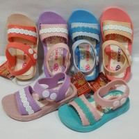 Sepatu Sandal Anak Perempuan Sendal slop Anak NEW ERA 2007