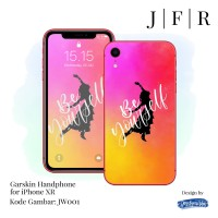 Garskin iPhone XR Skin Handphone iPXR Cover Stiker HP JW Series