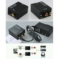 Converter Kabel Toslink Optical to RCA TV -Digital to Analog Audio