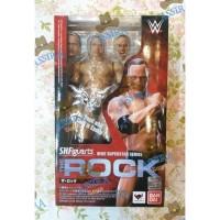 Original SHF WWE The Rock RAW Smackdown Smack Down Mattel Elite BANDAI