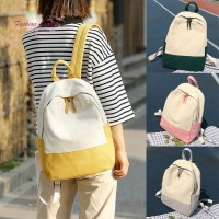 Women Lady Girl Backpack Canvas School Student Shoulder Bag Fashion Fo