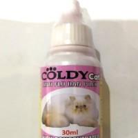 obat flu dan pilek untuk kucing dan kitten aman Coldy Cat Flu & Pilek
