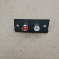 Soket rca 2 pin / soket rca dua pin / soket input output /soket audio