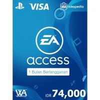 PlayStation EA Access Indonesia - 1 Bulan (Region 3/Reg 3)
