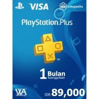 PlayStation Plus Indonesia - 1 Bulan (Region 3/Reg 3)