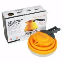 Dh folding kettle silicon atau teko silikon dhaulagiri 1 koma 2 ml unt