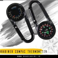 Karabiner kompas termometer lengkap