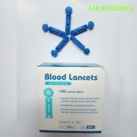 Blood Lancet 28 G isi 100 Jarum Lancet /Jarum Bekam Refil