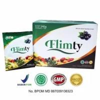 FLIMTY PAKET VVIP 8BOX(128 Sachet) Minuman diet fiber sudah BPOM