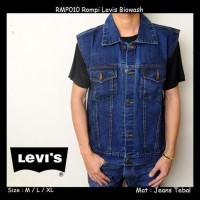 Rompi Jeans Levis ~ Vest Jeans Levis - Blue Blitz, M