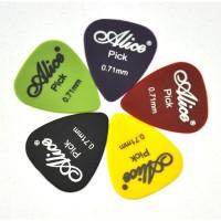 Pick Gitar Alice 0.71 mm