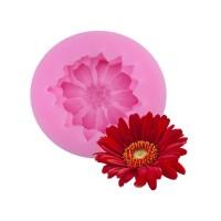 Indah Daisy Bunga Bentuk Silikon Cetakan Kue Bakeware Cetakan Untuk