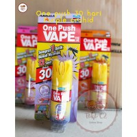 Vape Semprot One Push 10 ml 30 Malam Purple Orchid