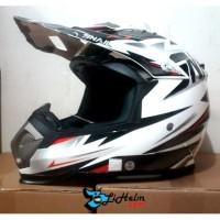 Helm SNAIL SUPER CROSS 315 WHITE BLACK 2379