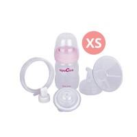 Breast Shield (corong) set 20mm size XS + PP Bottle