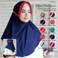 Khimar Serut Belakang JOKOWI KOMBINASI Hijab Instan