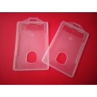 TEMPAT CASING ID CARD - TRANSPARAN ( 1 PACK ISI 10 PCS )