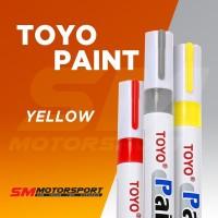 Spidol Toyo (spidol warna) untuk ban Kuning Stabilo