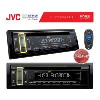 JVC KD-T408 Gold Accent Edition USB FLAC MP3 WMV 3XRCA Pre-Outs Audio