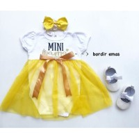 Dress Baby Mini Mama Baju Anak Murah Gaun Pesta All size