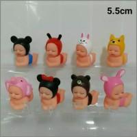 Boneka Rubber Baby Bayi MinnieMouse Line Melody Imut Lucu