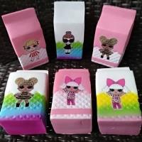 Termurah Squisi Squishy Sequisy Susu Kotak Lol Lucu Mainan Anak Peremp