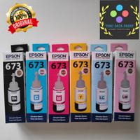 Tinta Epson 673 Support untuk Printer : Epson L800 L805 L850 L1800