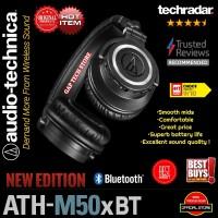 Audio Technica ATH M50xBT / ATH M50x BT Monitoring Bluetooth Headphone