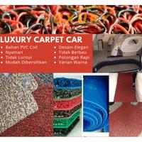 Karpet Mobil Mie Bihun Chevrolet Captiva Full Bagasi 1 Warna PVC Coil