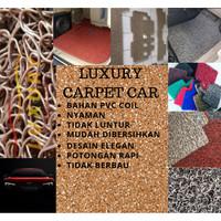 Karpet Mobil Mie Bihun Chevrolet CAPTIVA Full bagasi 2 Warna PVC Coil