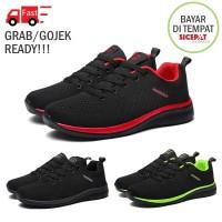 Sepatu Pria Sneaker Running Shoes Sport Upper Light Training - Murah