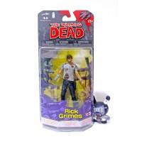 McFarlane The Walking Dead RICK GRIMES 5 Action Figure Comic 3 series
