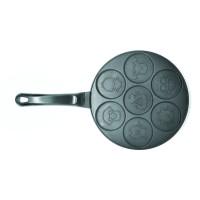 Cetakan Cookiess, Pancake Daroyaki 7 holes Motif Binatang