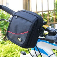 Outdoor Bike Cycling Bicycle Handlebar Bag Front Frame Tube Pouch Fann