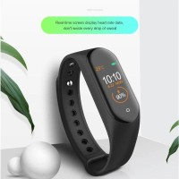 smartwatch M4 - ORIGINAL M4 smartwatch - Hitam