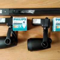 3 set Lampu rel Cafe LED TRACK LIGHT philips ARTALUX ar360 komplit