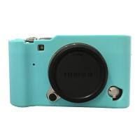 Silicone Case For Fujifilm X-A3 - Biru